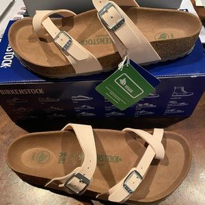 Birkenstock Mayari vegan rose 8 medium new